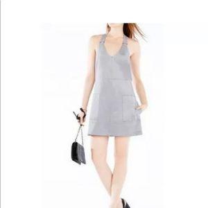 BCBG faux suede dress